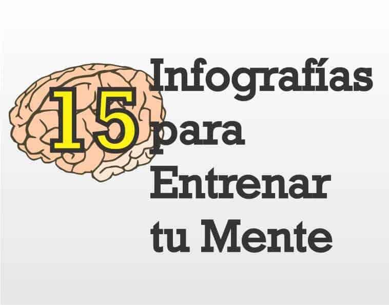 15 Infografías para Entrenar tu Mente y Mejorar tu Memoria