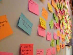 Proceso para crear lluvia de ideas