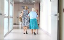 Persona anciana con demencia senil